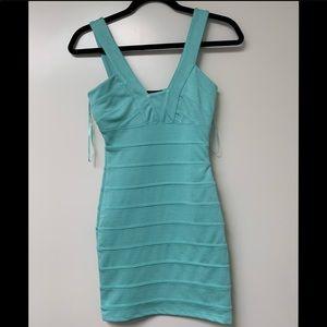 3/$30 NWT Topshop Green Bandage Bodycon Dress
